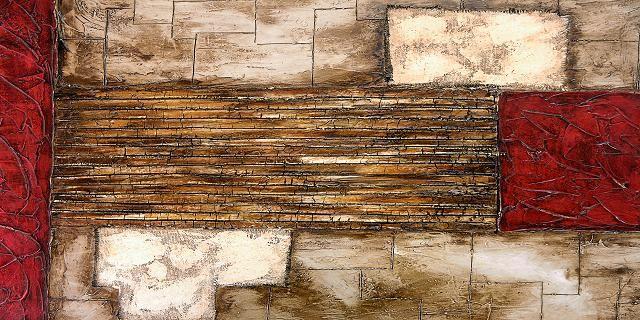 CUADRO ABSTRACTO RUSTICO (BME190072)