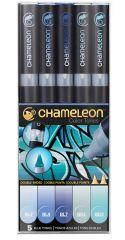 Chameleon 5'li Mavi Renkler Seti