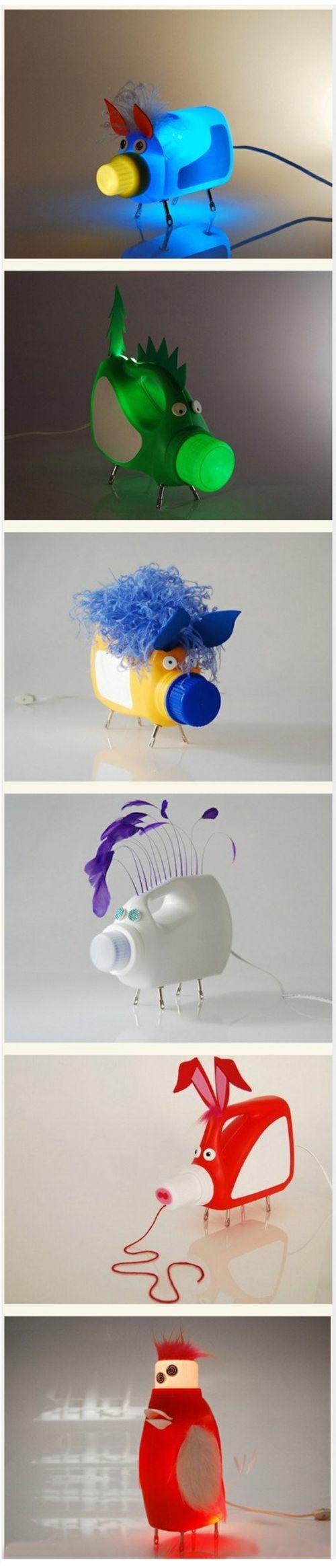 Cool Plastic Bottle Crafts DIY u0026