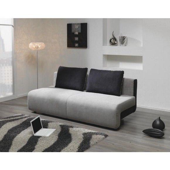 Mit diesem hochmodernen Schlafsofa von VENDA bereichern Sie Ihre Wohnung! Es hat die Maße von ca. 206 x 88 x 95 cm (B x H x T) und kommt mit einem Bezug aus Polyester in Anthrazit und Hellgrau. Um das Sofa zum Schlafen umzubauen, schieben Sie die Sitzfläche einfach nach vorne und klappen Sie die Rückenlehne herunter. So entsteht eine Liegefläche von ca. 130 x 195 cm. In einem Bettkasten verstauen Sie etwa Kissen oder eine Bettdecke.
