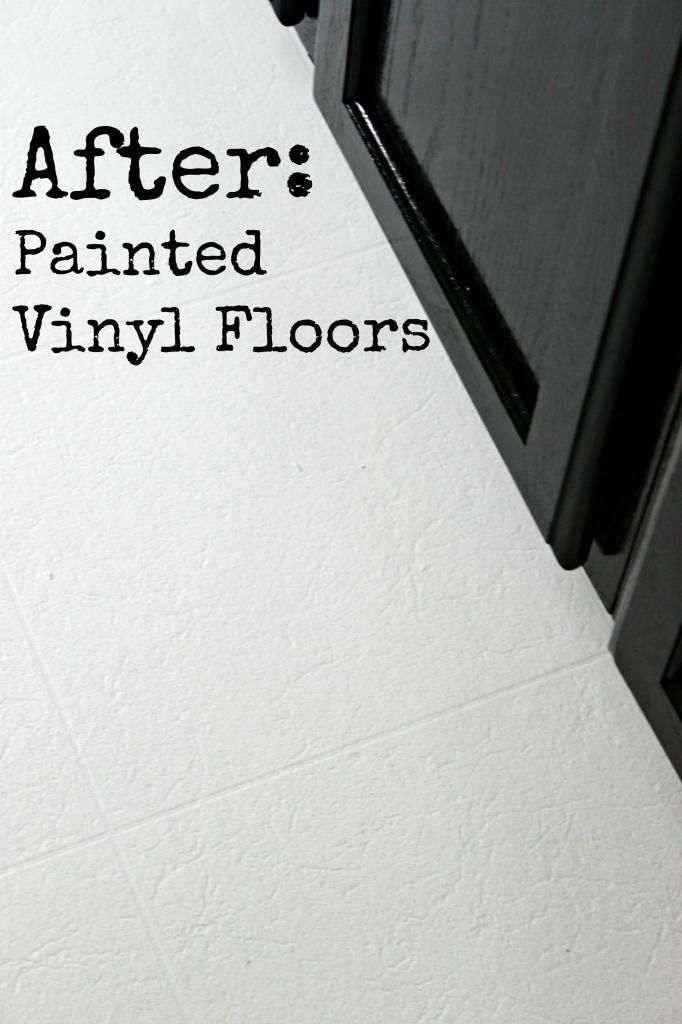 Can you paint vinyl flooring wood floors for Can you paint floor tiles