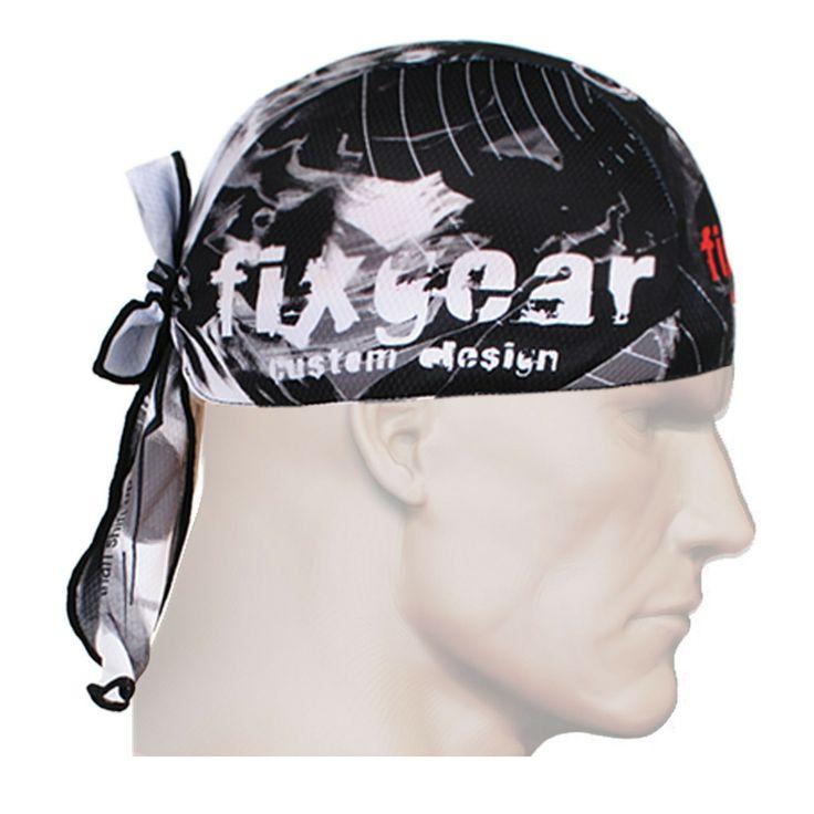 ZIPRAVS - Fixgear Running Black Bandanna Head Band Scarf Wrap Beanie Bandana, $12.99 (http://www.zipravs.com/fixgear-running-black-bandanna-head-band-scarf-wrap-beanie-bandana/)