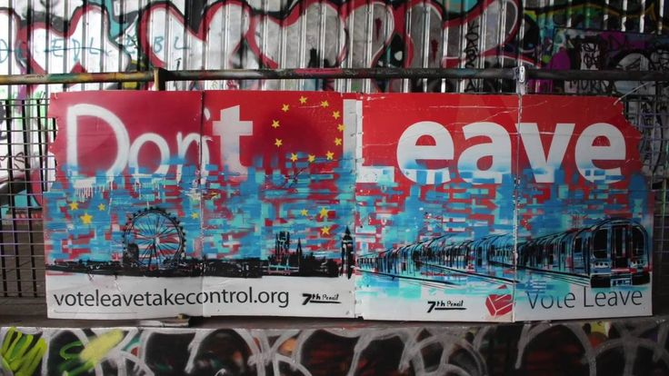 Given the hype around the European Union Referendum inches UK I was inspired to respond with some paintings. I was heading up to London so I decided to make this trip with some art responding to London's resounding remain vote.  I painted Vote leave signs in my studio in Devon and put them up around Camden and Waterloo emphasising the fact London was not happy with the result we are leaving the EU.   Please subscribe for more artwork.  Www.7thpencil.com for more art and info.