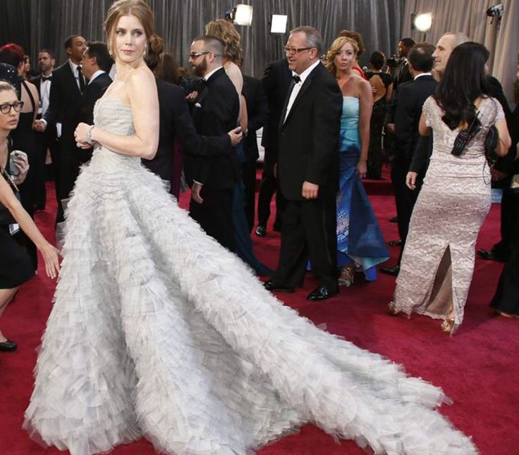 Amy Adams at the 85th Academy Awards
