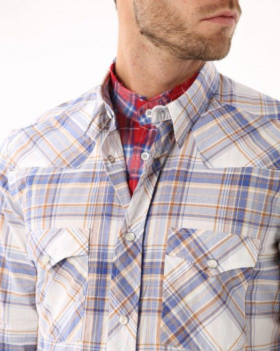 Chequered shirt N°21