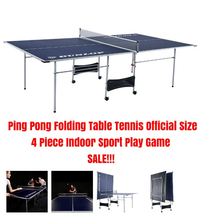 Ping Pong Folding Table Tennis Official