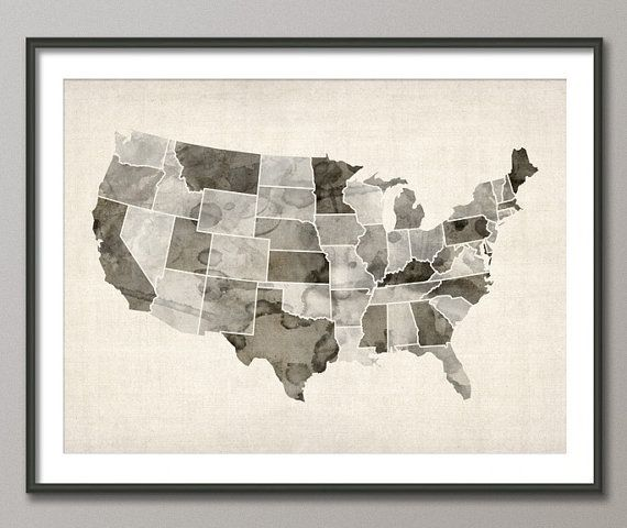 Best 25 State map ideas on Pinterest Track distance on map