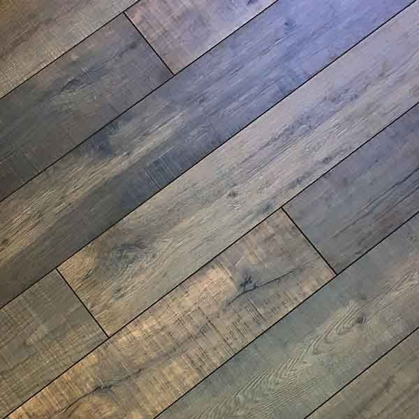 12mm Cocoa Birch Laminate Flooring With Attached Underpad 8087cr