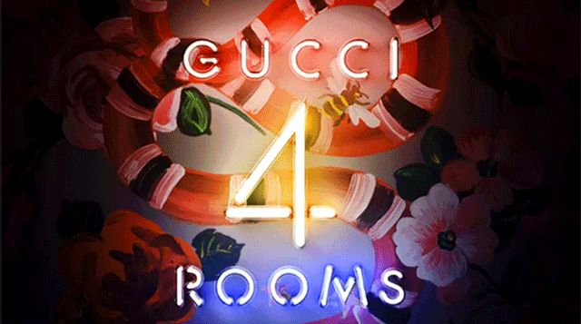 fourfancy Magazine: Gucci 4 rooms
