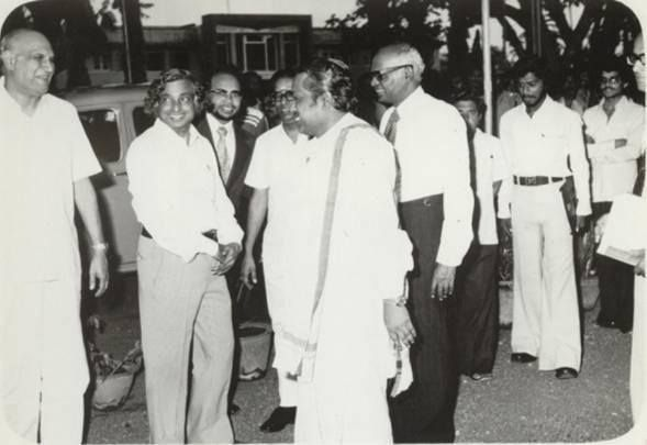 A Vintage picture of India's former president Dr APJ Abdul Kalam