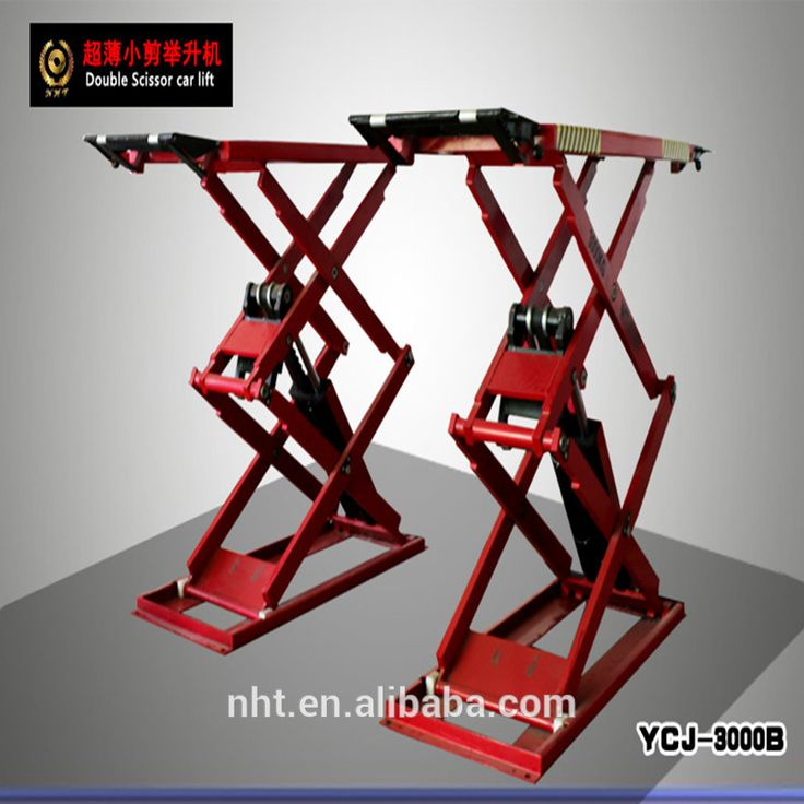 Super Thin Hydraulic Mobile Car Lift 3.0 tons for sales