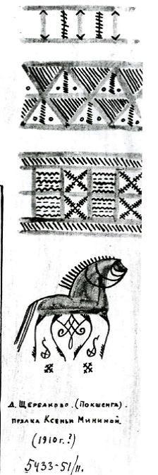 росписи пинеги