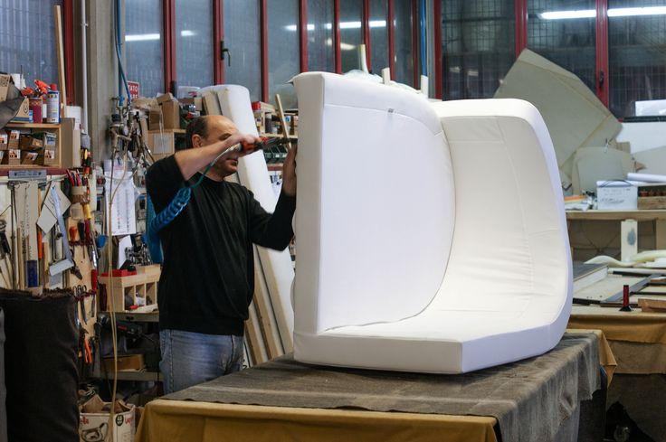 Custom sofa made by BertO #upholstery #BertOprogetti #tailormade #interior #interiordesign #design #sofa #madeinitaly #madeinbrianza