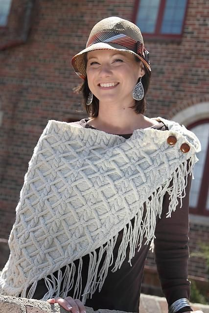 Valle di Susa Cabled Wrap