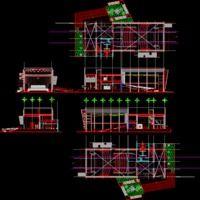 auditorium dwg autocad drawing concert halls. Black Bedroom Furniture Sets. Home Design Ideas
