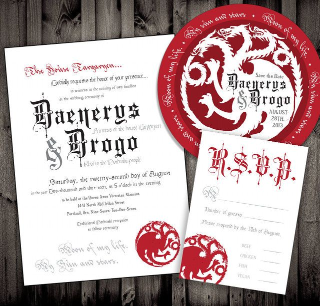 invitations for wedding 34 best of thrones ideas images on 5168