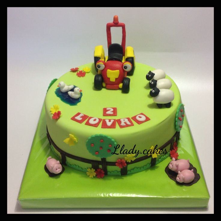 35 Best Images About Tom Tractor Cake On Pinterest