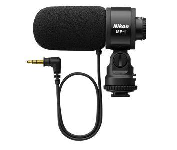 Microfone para Câmera Nikon (Microfone Estéreo ME-1)