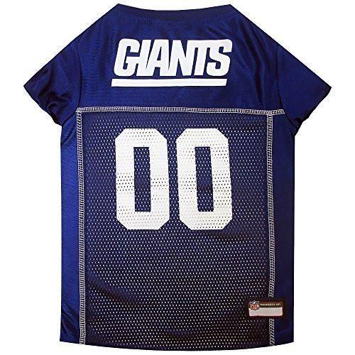 New York Giants Dog Jersey XSmall