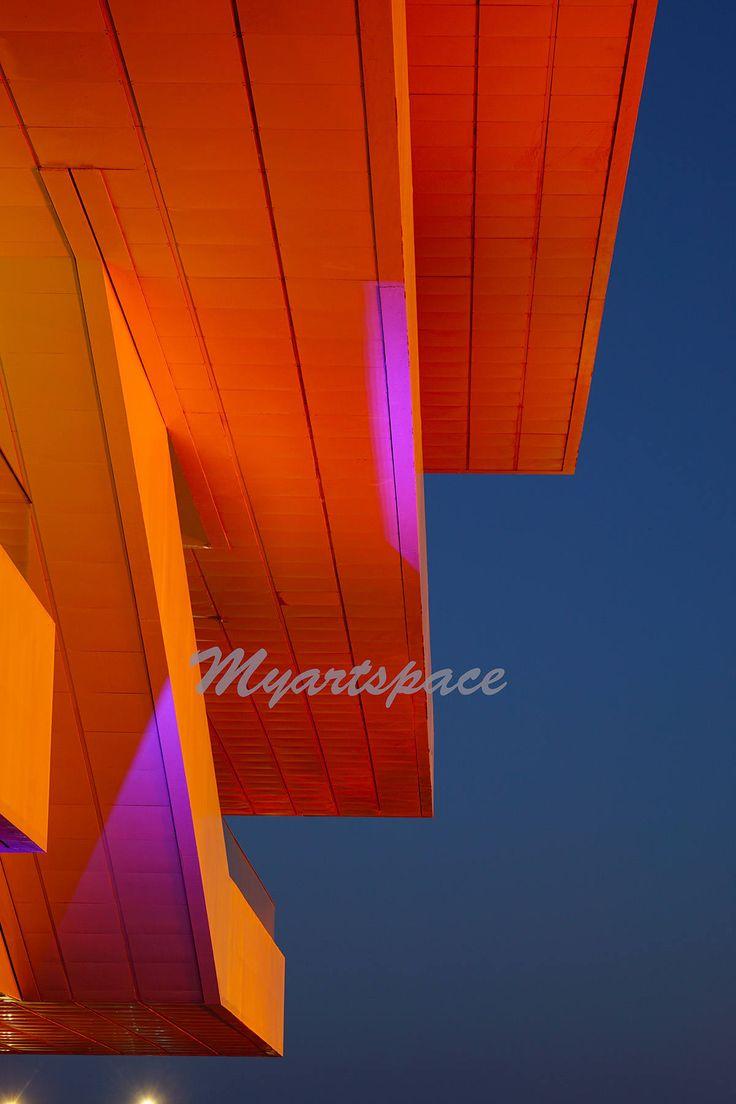 Spain abstract Architecture, Valencia night lights City of Arts Valencia European architecture, #Travel #Valencia #nature #livecreatively #sunset  #myart🎨 #zenmoments #peacefullife #homedecor