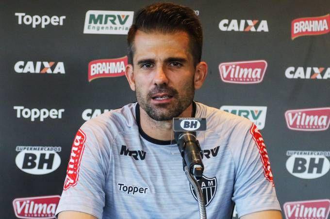 O goleiro Victor do Atlético-MG