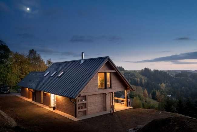 Czech Chalet – dřevostavba v alpském stylu v českých horách | Dřevostavby…