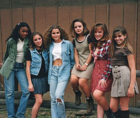 My ten year old dream: christine lakin kerri russell tatyana ali jenna van oy devon odessa danielle fishell tv photo
