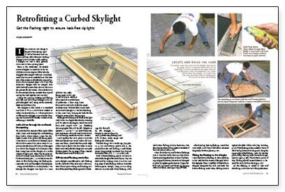 1000 images about skylights on pinterest for Skylight framing