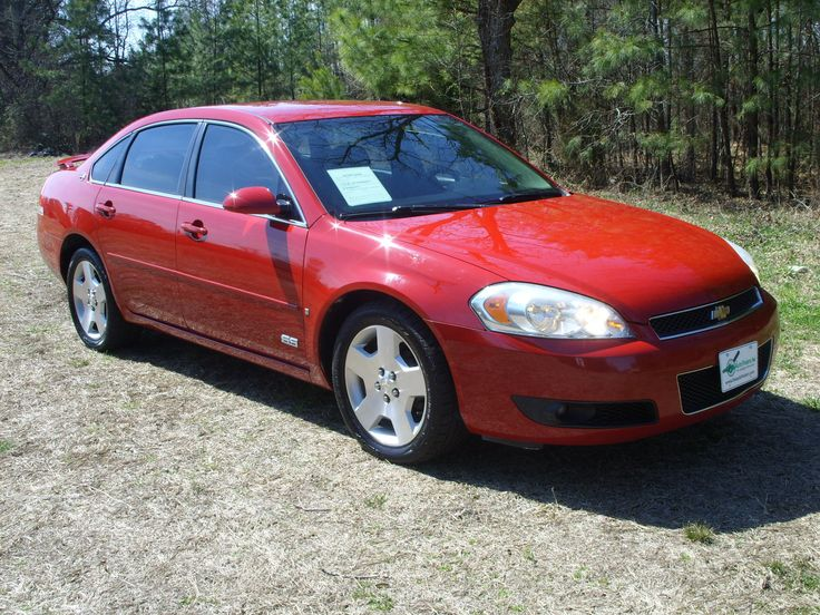 Used 2008 Chevrolet Impala SS For Sale | Durham NC.