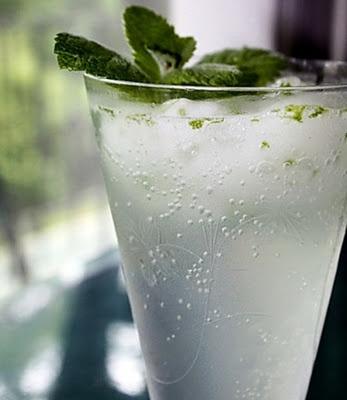 Scroppino is een verrassend lekker drankje van champagne, wodka en citroenijs.