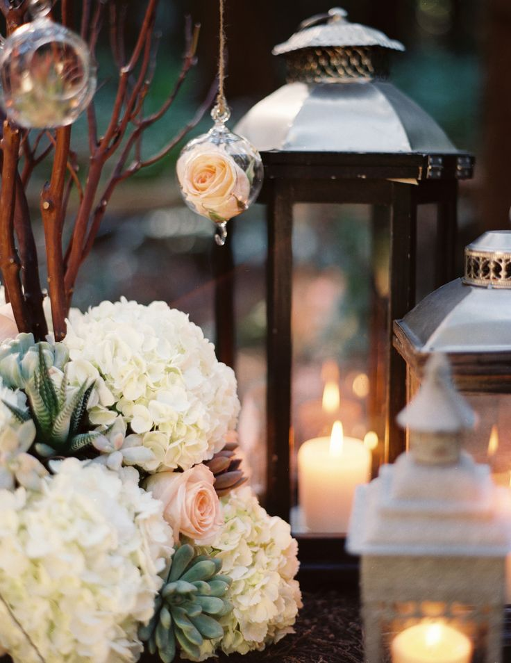 #lantern  Photography: Michael Wachniak Photography - michaelwachniak.com  Read More: http://www.stylemepretty.com/living/2013/10/04/date-night-idea-dinner-in-the-woods/