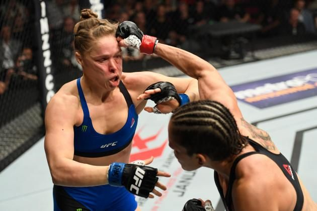 Nunes vs. Rousey Results:  Nunes! Winner and Knockout Reaction from UFC 207