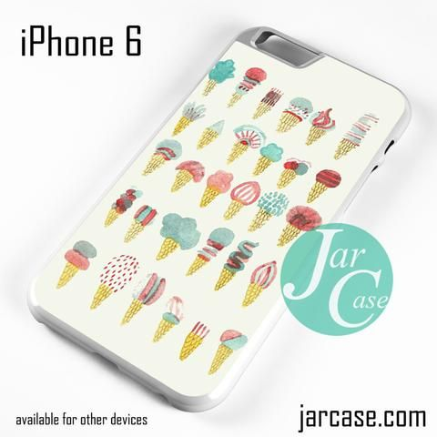 Cute Ice Cream (2) Phone case for iPhone 6 and other iPhone devices
