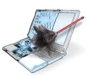 Как правильно почистить ноутбук!