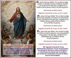 ORACIÓN AL SAGRADO CORAZÓN DE JESÚS QUE RECITABA A DIARIO EL PADRE PÍO DE PIETRELCINA La presente estampa está...