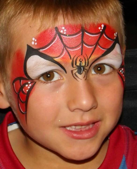 die besten 25 schminken spiderman ideen auf pinterest spiderman gesicht spiderman kost m und. Black Bedroom Furniture Sets. Home Design Ideas