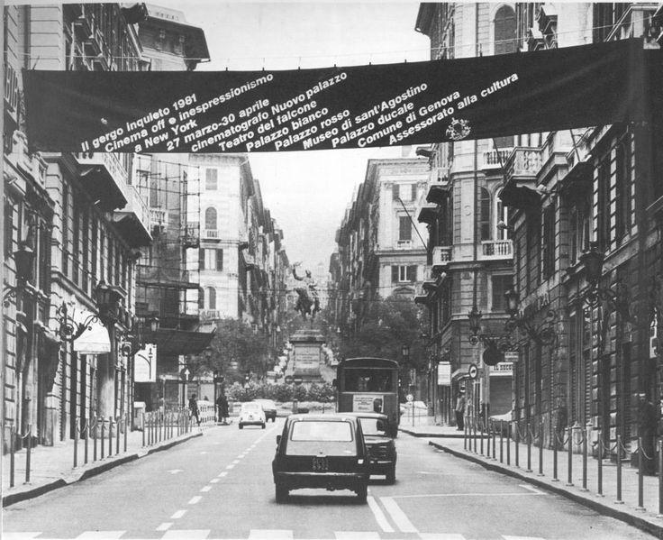 IL GERGO INQUIETO 1981 CINEMA OFF E INESPRESSIONISMO A NEW YORK Genova 27 marzo - 30 aprile 1981