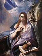 """New artwork for sale! - """" Mary Magdalene In Penitence by El Greco """" - http://ift.tt/2zHSoca"""