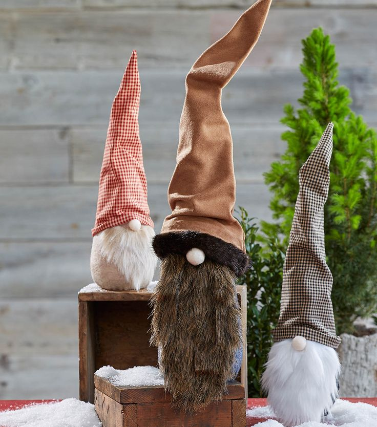 How To Make Holiday Gnomes