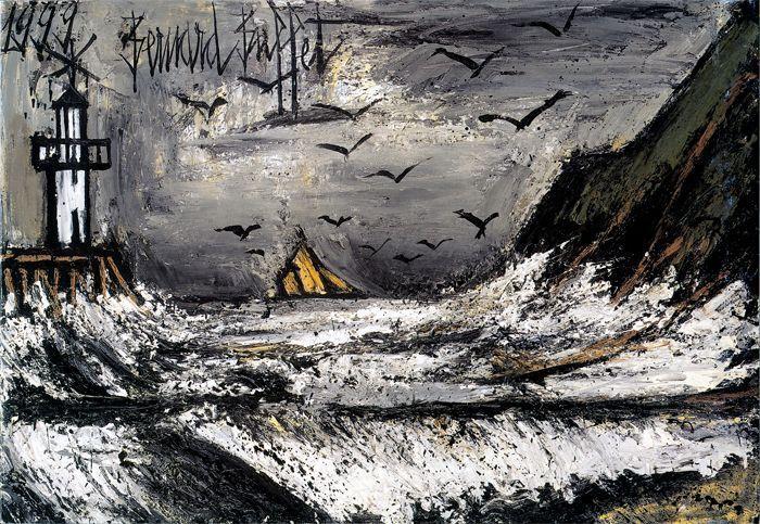 Tempête en Bretagne, 1999, Bernard Buffet