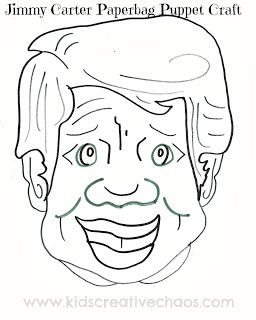 28 best coloring pages from kcc images on pinterest for Jimmy carter coloring page