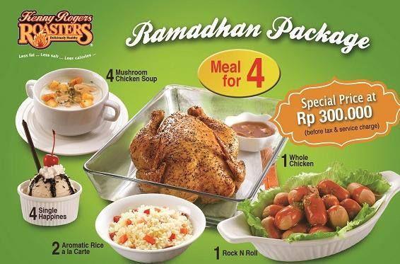 Kenny Rogers Roasters: Promo Ramadhan Package @kennyrogersid