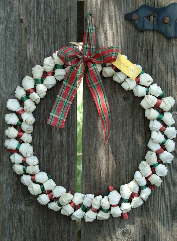 1000 Images About Dog Themed Wreath On Pinterest Deco