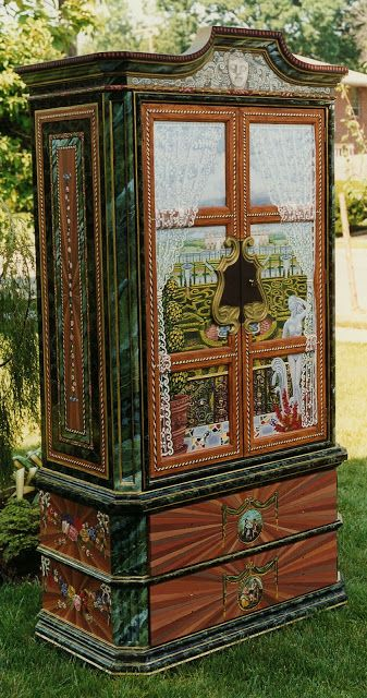 Hand-painted Armoire