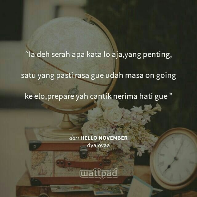 Hello November Wattpad Indonesia By Dyalovaa Wattpad