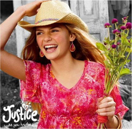 Justice just for girl clothing store