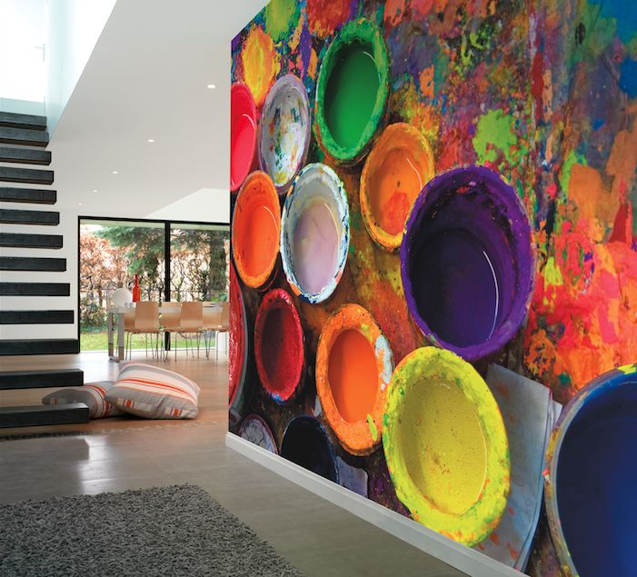 Les 13 meilleures images du tableau d co papier peint sur - Poster decoratif mural ...
