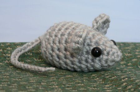 CROCHET MOUSE CAT TOYS – Only New Crochet Patterns  - Catsincare.com