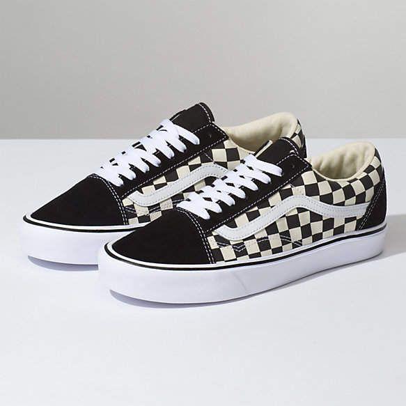 Checkerboard Old Skool Lite Vans Skate Shoes Vans Shoes