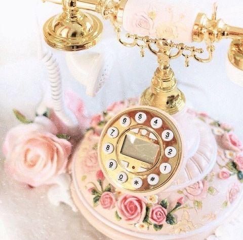 shabby telephone